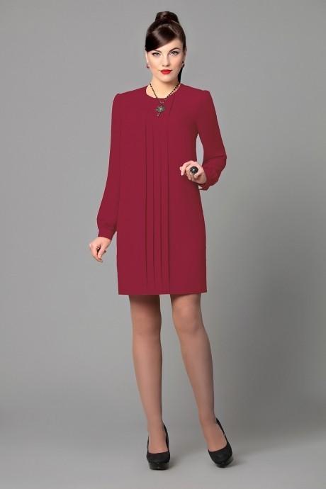 Вечернее платье Runella 1155 бордо/винный