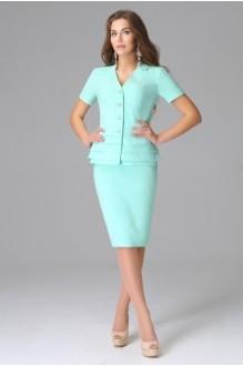 Юбочный костюм /комплект Lissana 2585 ментол фото 1
