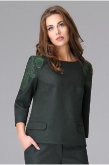 Брючный костюм /комплект Lissana 2655 темно-зеленый фото 2