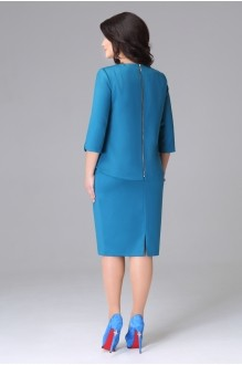 Юбочный костюм /комплект Lissana 2773 синий фото 2