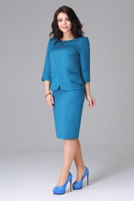 Юбочный костюм /комплект Lissana 2773 синий