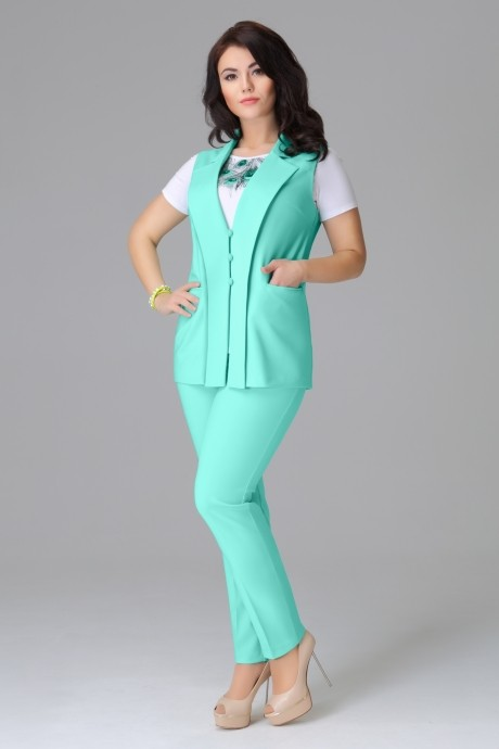 Брючный костюм /комплект Lissana 2780 мята