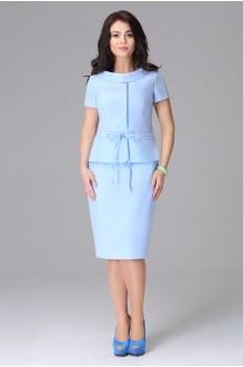 Юбочный костюм /комплект Lissana 2786 голубой фото 1