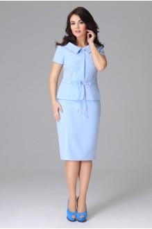Юбочный костюм /комплект Lissana 2786 голубой фото 2