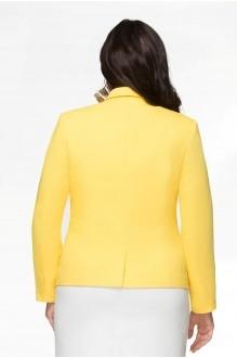 Жакет (пиджак) LeNata 11486-1 жёлтый фото 2