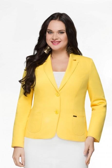 Жакет (пиджак) LeNata 11486-1 жёлтый