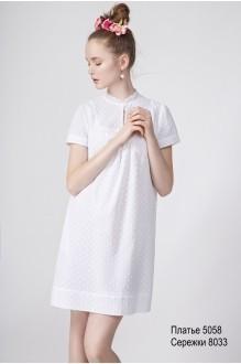 Повседневное платье Lea Lea  5058 белый фото 1