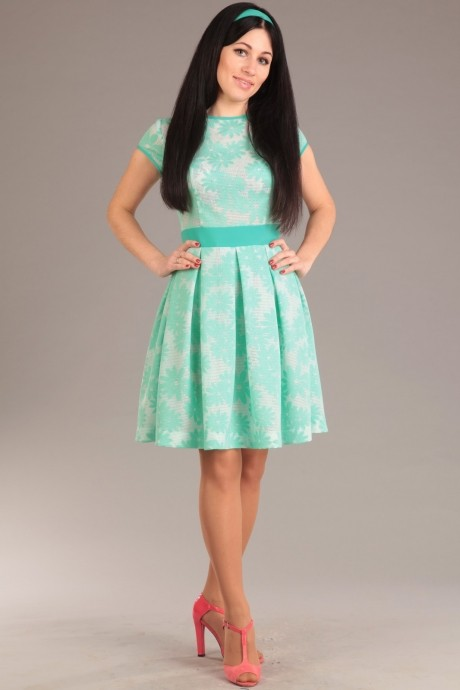 Летнее платье Jurimex 1405 ментоловый