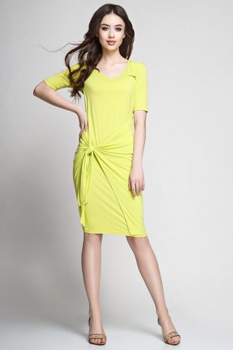 Летние платья Teffi Style 1173 лайм
