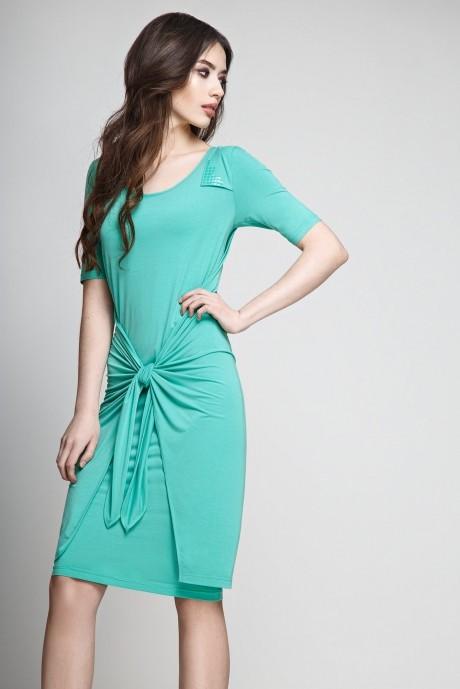 Летнее платье Teffi Style 1173 мята