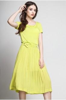 Летнее платье Teffi Style 1174 лайм фото 1