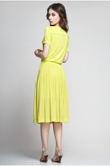 Летнее платье Teffi Style 1174 лайм фото 2