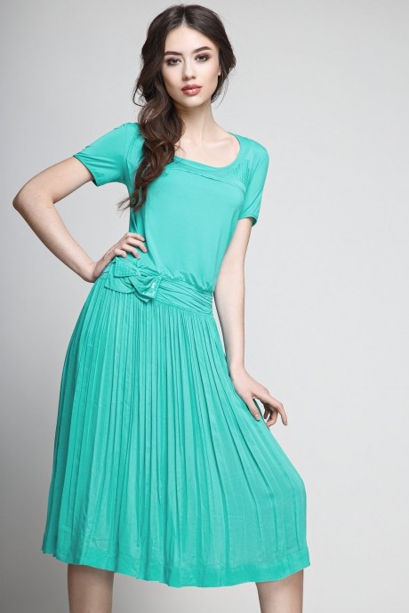 Летнее платье Teffi Style 1174 мята