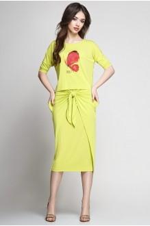 Юбочный костюм /комплект Teffi Style 1177 лайм фото 1