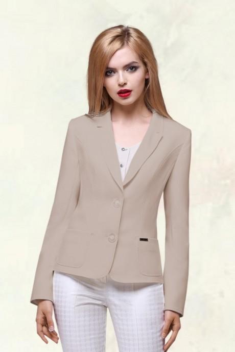 Жакет (пиджак) LeNata 11486-1 бежевый