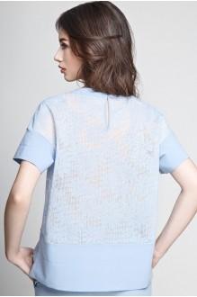 Юбочный костюм /комплект Teffi Style 1185 голубой фото 2