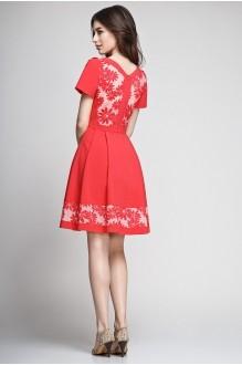 Летнее платье Teffi Style 1188 красный фото 2