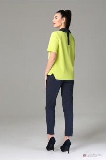 Брючный костюм /комплект Arita Style (Denissa) 948 блуза лайм фото 2