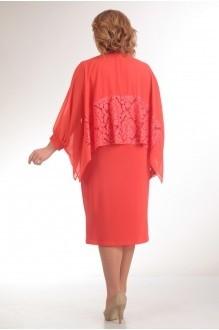 Вечернее платье Прити 235 коралл фото 2
