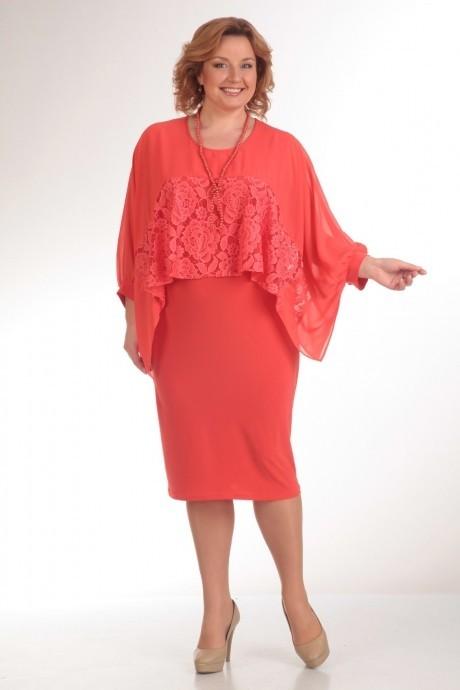 Вечернее платье Прити 235 коралл
