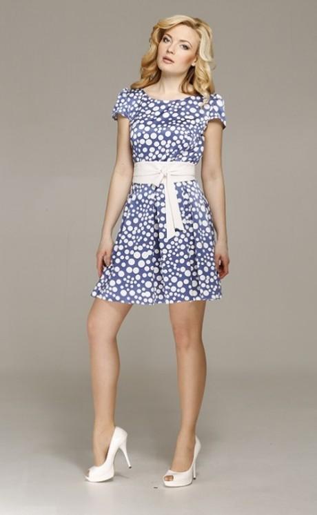 Короткое платье Azzara 257