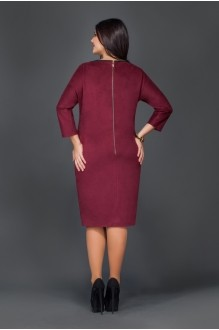 Повседневное платье Lissana  2693 баклажан фото 2