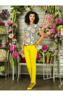 Блузки и туники Твой Имидж 2106 желтые ромашки фото 1