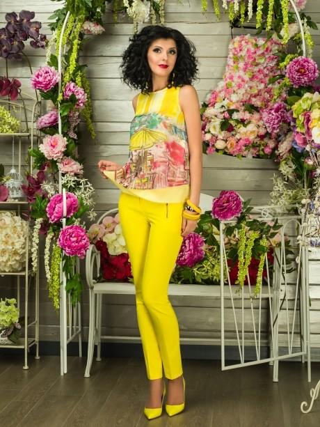 Блузки и туники Твой Имидж 2100 желтый