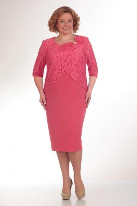 Вечерние платья Прити 387 розовый