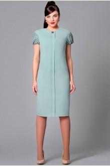 Вечернее платье Runella 1160 серо-голубой фото 1