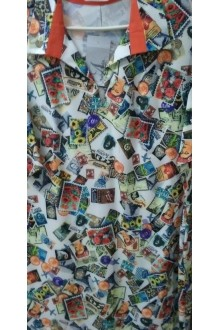 Повседневные платья Ладис Лайн 701 синий фото 2