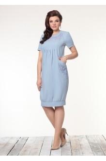 Повседневное платье Галеан-стиль 450 голубой фото 1