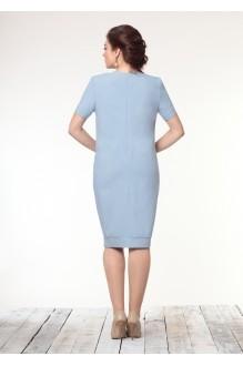 Повседневное платье Галеан-стиль 450 голубой фото 2