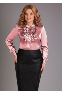 Блузки и туники Джерза 018 розовый фото 1