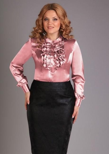 Блузки и туники Джерза 018 розовый