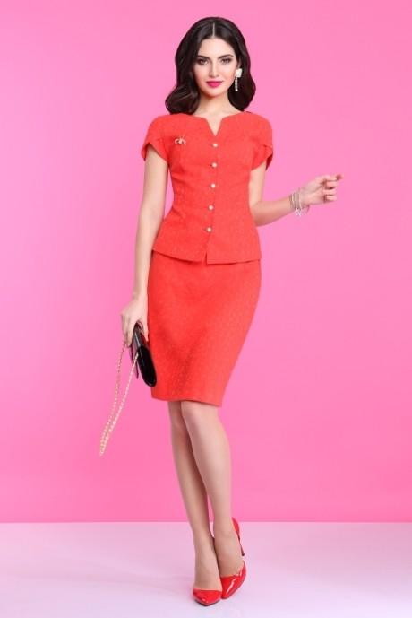 Юбочный костюм /комплект Lissana 2800 красный