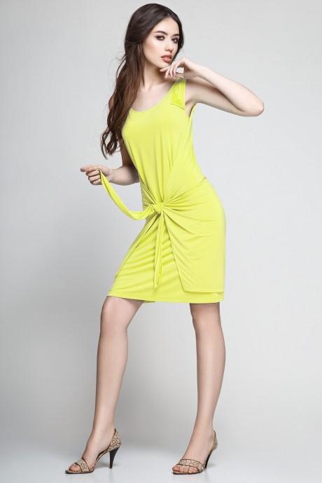 Летнее платье Teffi Style 1172 лайм