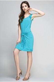 Летнее платье Teffi Style 1172 св. бирюза фото 1