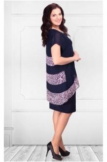 Юбочный костюм /комплект Camelia 14175 синий/розовый фото 2