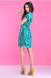 Летнее платье Lissana 2830 бирюза фото 5