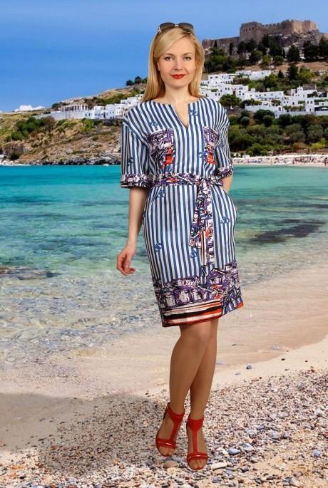 Повседневное платье МиА-Мода 706
