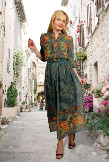 Длинное платье МиА-Мода 693-2