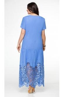 Длинное платье Aira Style 481 василек фото 2