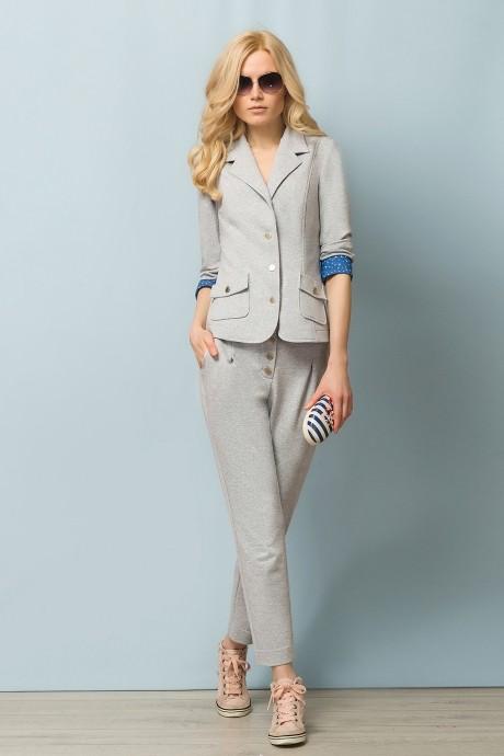 Брючный костюм /комплект Lady Secret 2409 серый