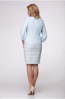 Юбочный костюм /комплект Надин-Н 1287 голубой фото 2