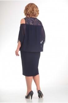 Вечернее платье Прити 401 темно-синий фото 2
