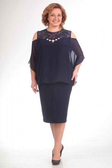 Вечерние платья Прити 401 темно-синий