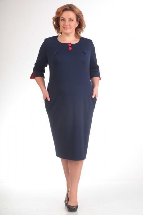 Повседневное платье Прити 402 синий
