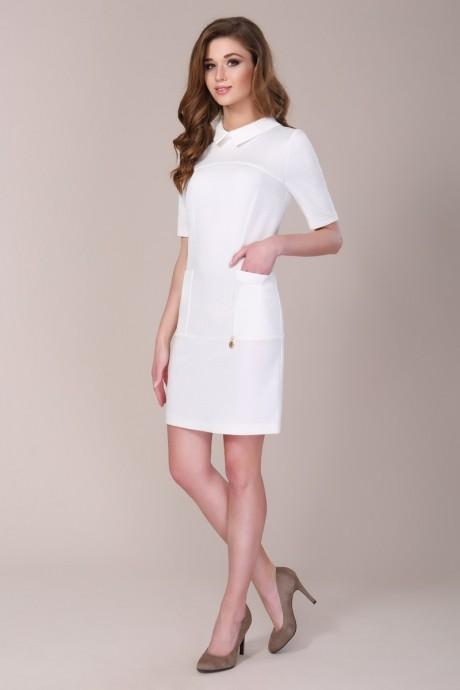 Повседневное платье Магия Моды 886 белый