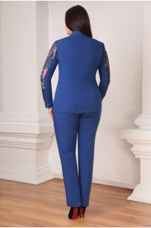 Брючный костюм /комплект Ksenia Stylе 1247 василек фото 2